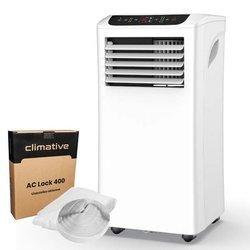 Klimatyzator przenośny Meaco 2,93 kw + Uszczelnienie okna Climative