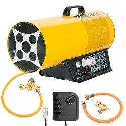 Nagrzewnica gazowa Master BLP 33ET + termostat TH5 3m + zestaw do sprzęgania butli