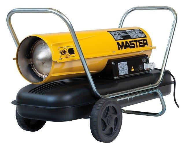 Genialny Master B 150 CED nagrzewnica olejowa | Autoryzowany sklep Master YC46